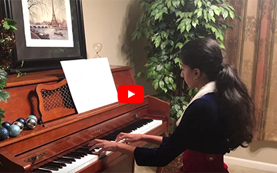 Valley Catholic Music School Virtual Winter Recital