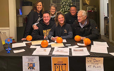 Valley Catholic High School Athlete Signs with Pacific Lutheran University